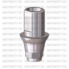 Титановое основание со скосами, совместимое с Dentium Implantium