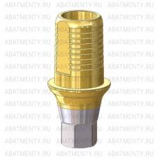 Титановое основание TiN со скосами и насечками, совместимое с Osstem Mini