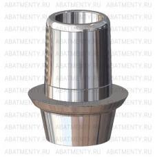 Титановое основание полированное с выступом, совместимое с ASTRA TECH 4.5/5.0