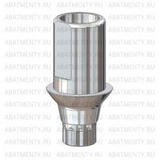 Титановое основание полированное со скосами, совместимое с ASTRA TECH 3.0