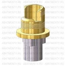 Титановое основание TiN аналог GEO для угловой отвертки, совместимое с NobelReplace WP