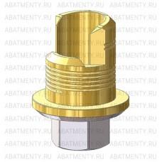 Титановое основание TiN аналог GEO для угловой отвертки, совместимое с Zimmer 4.5