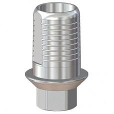 Титановое основание со скосами и насечками, совместимое с BEGO Semados 3.25/3.75