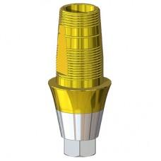 Титановое основание TiN аналог конусных GEO, совместимое с ASTRA TECH 4.5/5.0