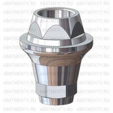 Абатмент мультиюнит полированный, совместимый с MegaGen AnyOne Multi-Unit