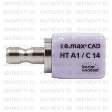 Блок IPS e.max CAD HT А1 C14