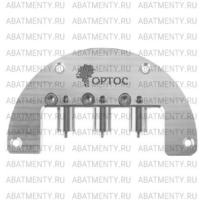 Холдер из алюминия для pre-milled абатментов ОРТОС / ADM / MEDENTiKA