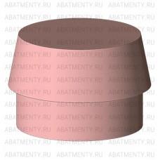 Набор аттачменов, аналог Rhein83 OT Cap MICRO с розовой и черной матрицей