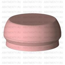 Набор аттачменов, аналог Rhein83 OT Equator с розовой и черной матрицей