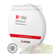 Циркониевый диск TT One ML 22 мм B1